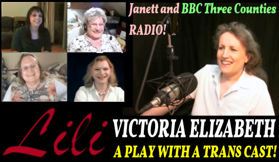 TransgenderZone Vlog #61 070714 - Victoria Elizabeth and the Magic of Lili Elbe!